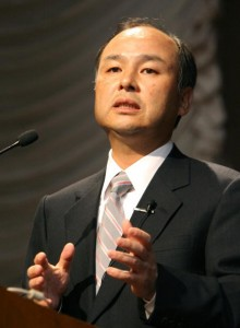 Masayoshi Son, President and CEO of Japa