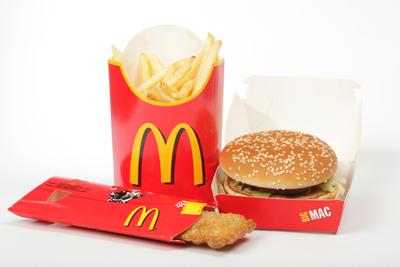 Dinner from McDonald's